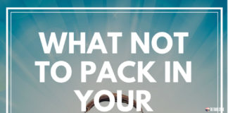 The Travel Speak - WHAT NOT TO PACK IN YOUR TRAVEL KIT