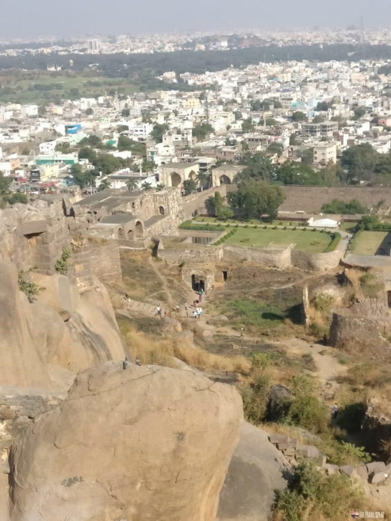 The Travel Speak - Travel Story - Benifer Gandhi - Hyderabad - Golconda Fort -1